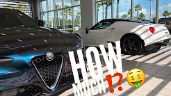1st and 2nd Alfa Romeo Giulia Maintenances Costs How Much?!