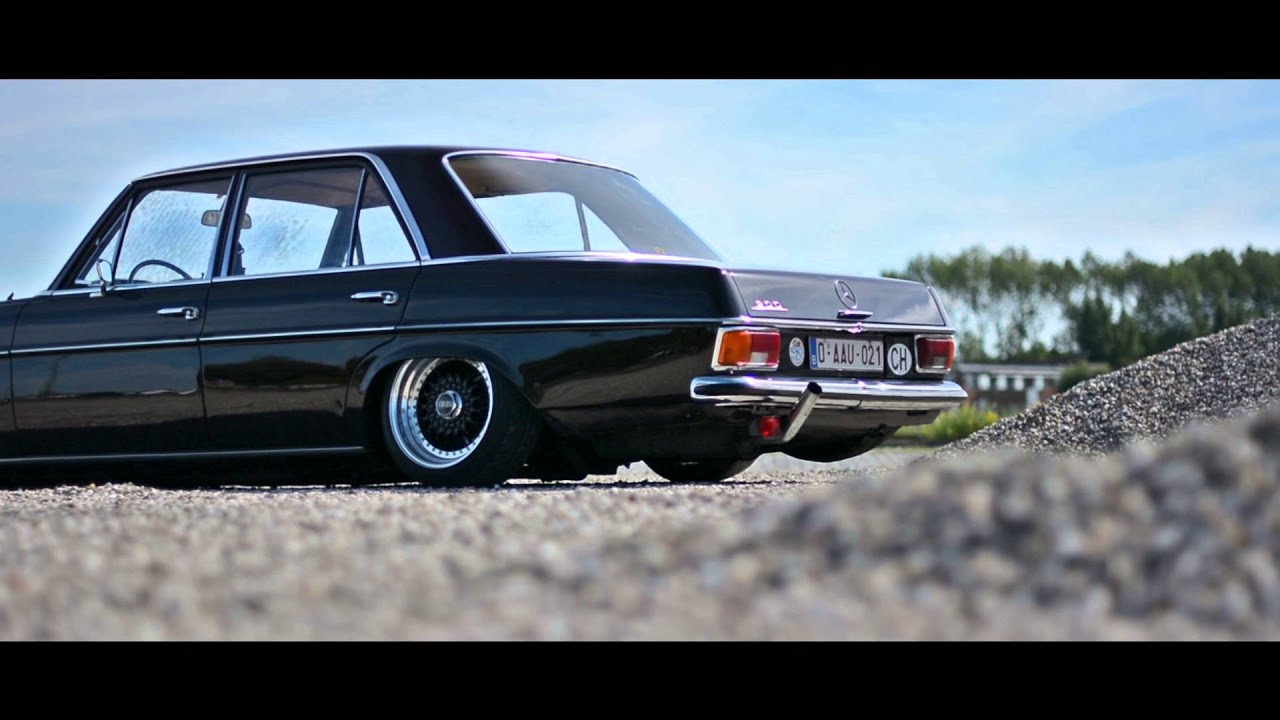 Mercedes W115 With Bbs Wheels Youtube