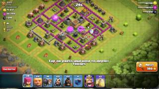 clash of clans th 7 best army