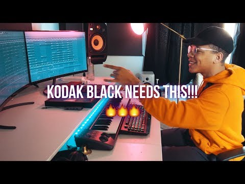 KODAK BLACK NEEDS THIS BEAT!!! (Chuki Beats Making A Beat)