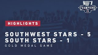 HIGHLIGHTS: 13U NTIS - Gold Medal Game   Southwest Stars 5, South Stars 1