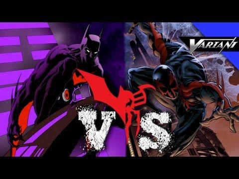 Batman Beyond VS Spider-Man 2099: Epic Battle!