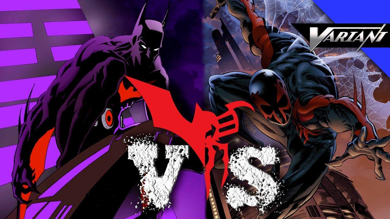 Spiderman 2099: Batman Beyond VS Spider-Man 2099: Epic Battle!