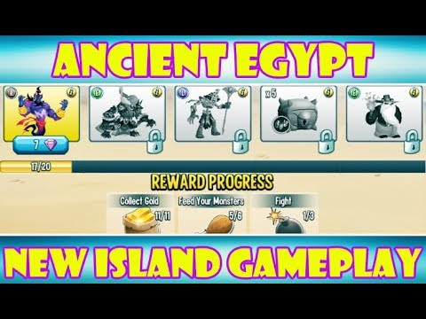 Monster Legends RPG | New Ancient Egypt Island Gameplay! Part 1