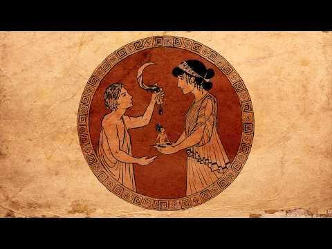 The Birth of the Titans (Myth Archive - Greek)