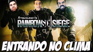 RAINBOW SIX SIEGE - PEGANDO O ESQUEMA DO JOGO
