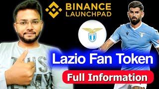 Lazio Fan Token on binance launchpad