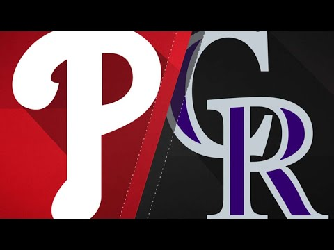Rockies use long ball to win 7th in a row: 9/27/18