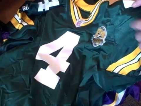 new style f0fd2 28894 Brett Favre Game Worn Jerseys. Packers, Jets, Vikings