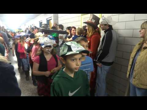 Mosier Elementary School Hat Parade - 1 of 2 on 10/31/14