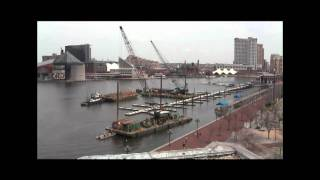 Profloat Floating Dock Installation - Time Lapse Video