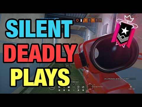 SILENT AND DEADLY PLAYS  - Rainbow Six Siege thumbnail