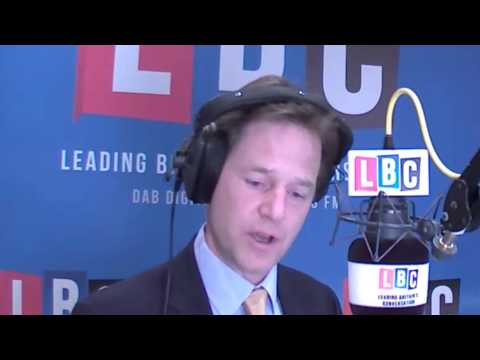 Nick Clegg on Prince Charles' Putin Comments