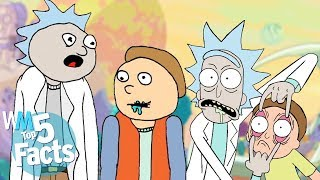 Top 5 Schwifty Facts About Rick and Morty