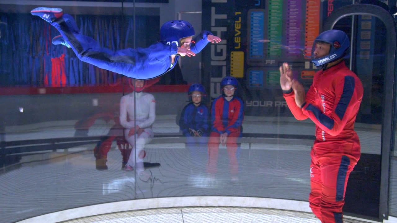 Ifly The Indoor Skydiving Experience Youtube