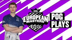 #EUMasters Pog Plays! Group Stage: 1st Round Robin