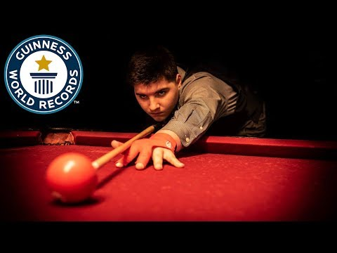 Highest jump pot of a billiard ball - Guinness World Records