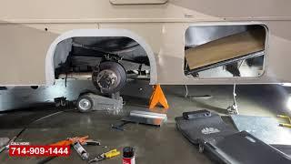 RV Tire Blowout Repair   RV Repair Shop