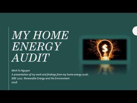 BBE 2201 DSARI Project: Home Energy Audit