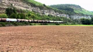 Züge bei Karlstadt (Main)