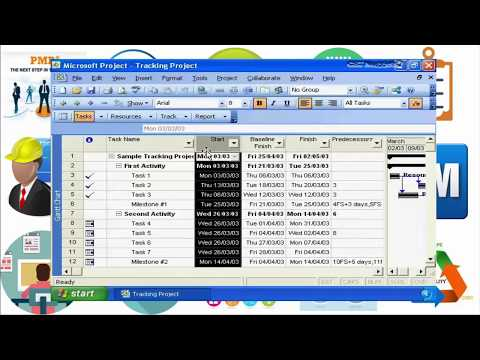 20. Using Microsoft Project To Manage A Project Schedule