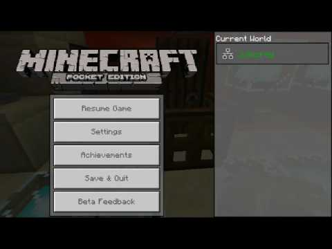 How To Change Your Name Tag In Minecraft Pe Youtube
