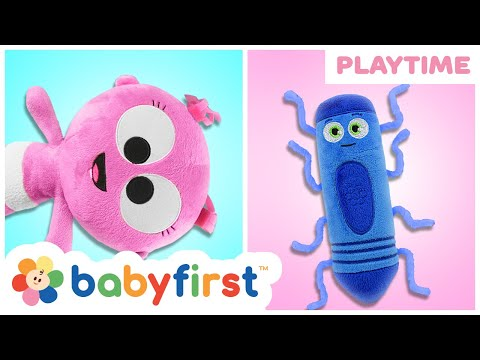 Itsy Bitsy Spider | Nursery Rhymes Compilation For Babies W Color Crew & Goo Goo GaGa | Baby FirstTV