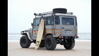 0017 - 1991 Toyota Bandeirante OJ50LVB 4 speed 4wd Long Wagon Hard Top - Amelia Island, FL
