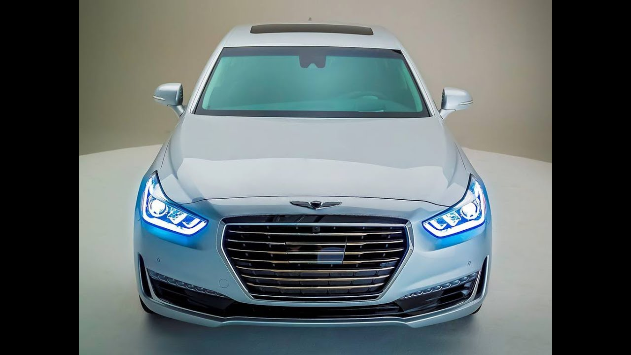 2017 hyundai genesis g90 hyundai sedan hyundai genesis youtube. Black Bedroom Furniture Sets. Home Design Ideas