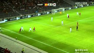 [평가전] 대한민국 vs 스페인 후반전 하이라이트