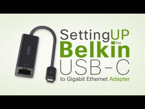 Belkin Official Support - Setting up the Belkin USB-C to