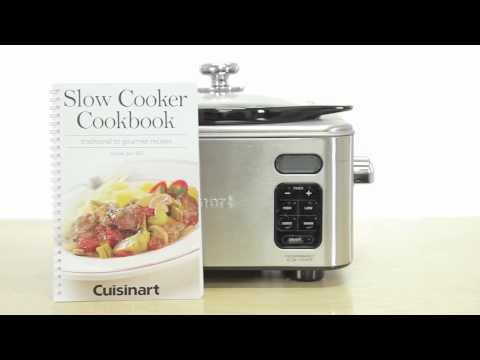 Cuisinart PSC-400 Stainless Steel 4-Quart Programmable Slow Cooker