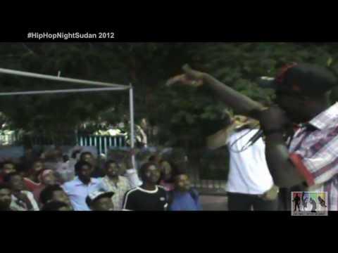 D.S.B Rappers LIVE !   Hip Hop Night Sudan 2012   راب سوداني