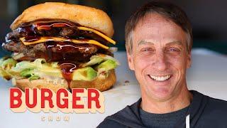 Tony Hawk and a Line Cook Tour Hidden Burger Gems | The Burger Show