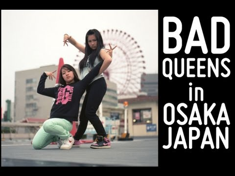 Yumeki & Ibuki are BAD QUEENS in Osaka, Japan Waacking PREVIEW | YAK FILMS