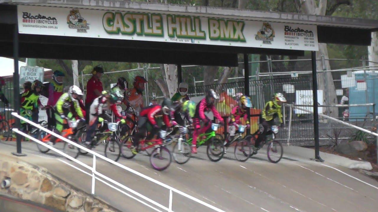 12 girls final 2016 castle hill bmx open - Open Castle 2016