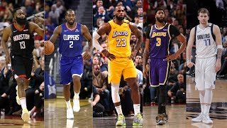 2020 Western Conference All Star Starter Season Highlights