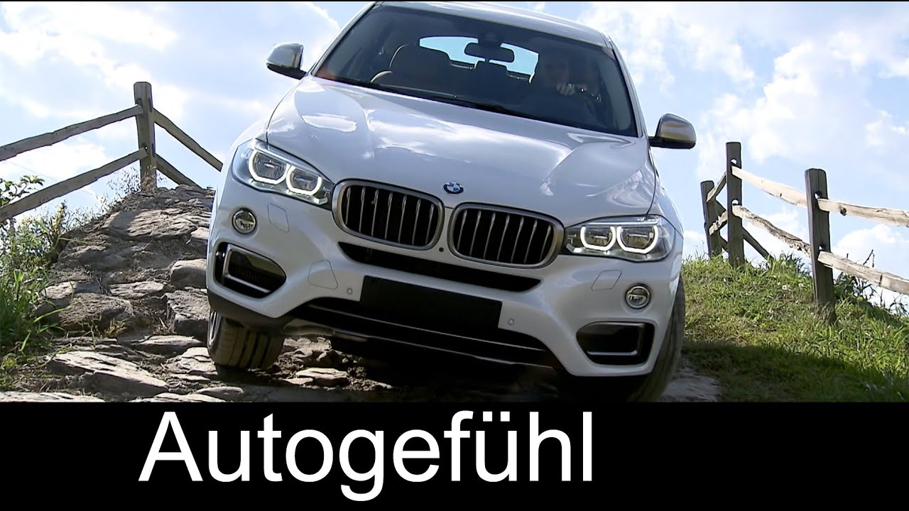 2015 All New Bmw X6 Xdrive50i X6 M50d Onroad Offroad Parcours