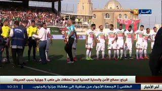 مولودية الجزائر و شباب بلوزداد يتعادلان سلبيا في أولى مباريات المحترف الأول
