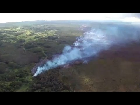 UFO Sightings Volcano Lava Threat! Military Abducts Humans? Special Report 10/25/2014