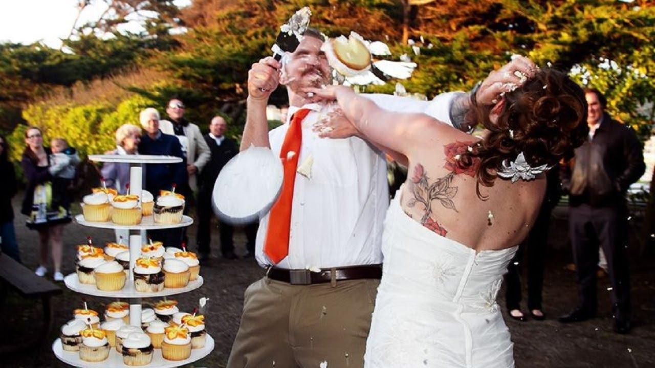 Прикольные свадебные видео