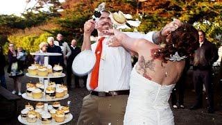 Смотреть свадебные приколы. Свадебные поздравления молодым. Ржачные и очень прикольные пожелания!