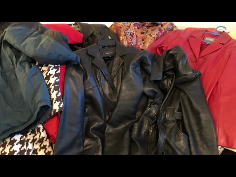 THRIFTED COAT HAUL!!!  All 10 coats for under $15