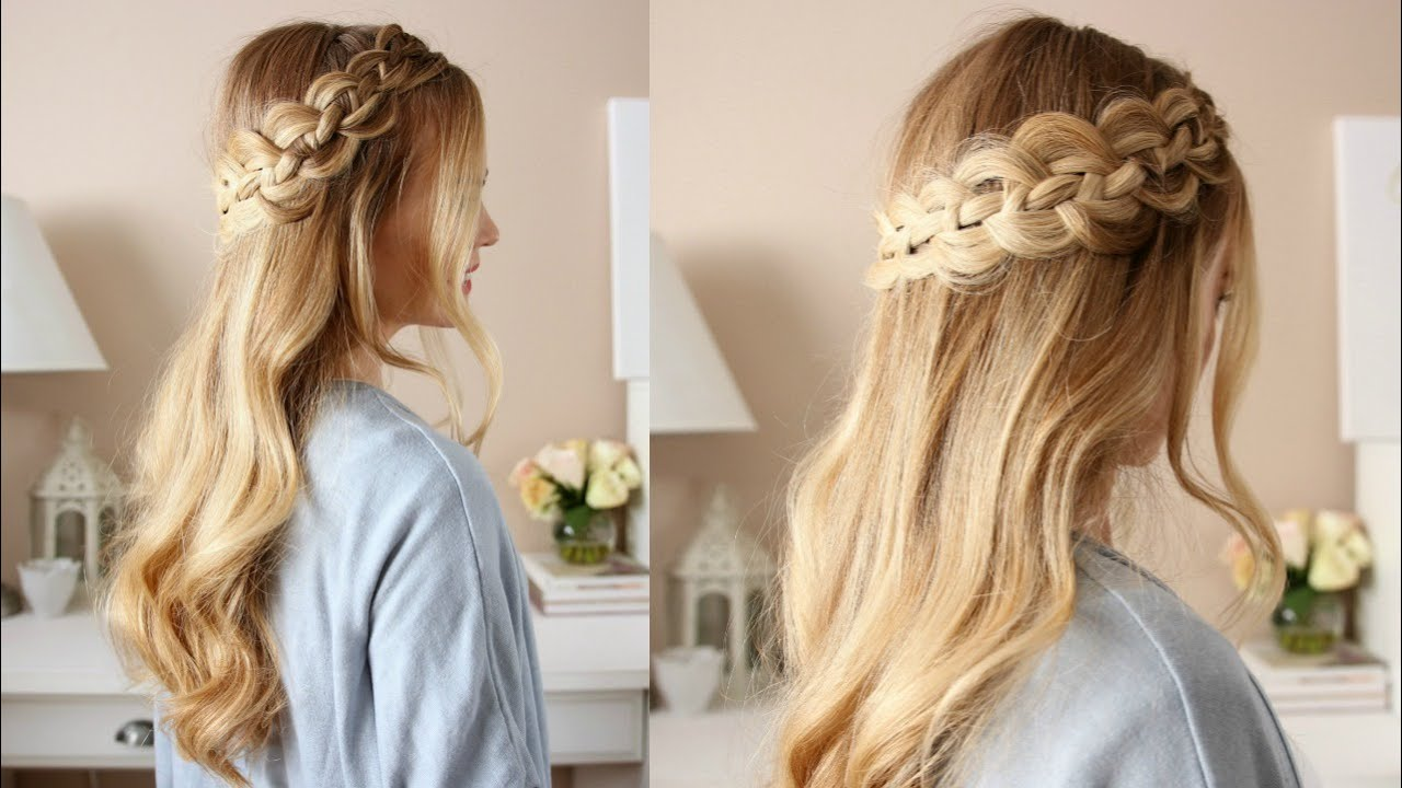Four Strand Dutch Braid | Missy Sue - YouTube