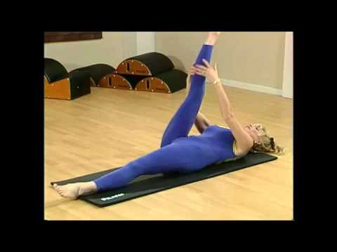 Beginner-Intermediate-Advanced Pilates Mat Workout led by Romana