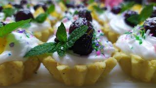 Лёгкий Рецепт Для Карзиночек (Тарталеток) На Праздничный стол/ Tartaletkanin Hazirlanmasi