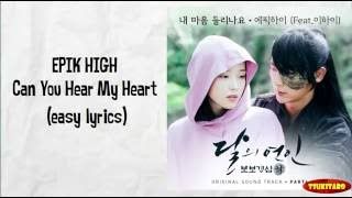 Gambar cover EPIK HIGH - Can You Hear My Heart Lyrics (easy lyrics)