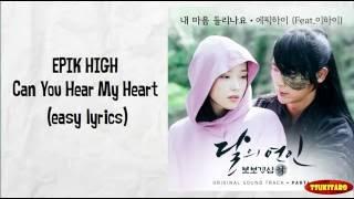 Download EPIK HIGH - Can You Hear My Heart Lyrics (easy lyrics)