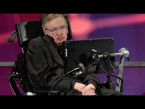 Stephen Hawking RAPS at TED speech