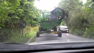 Driving in the Irish Countryside